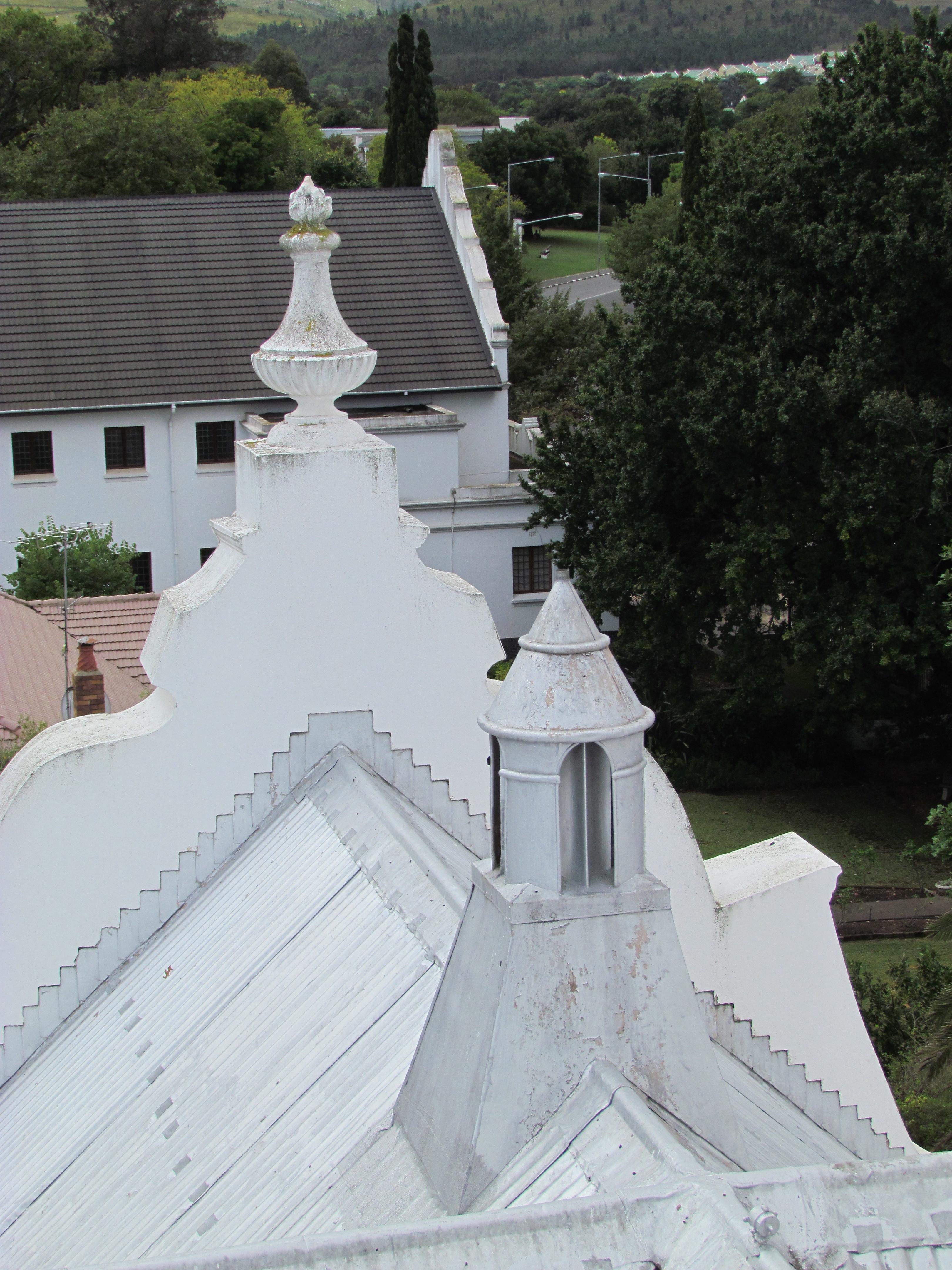 Gewels op die kerk se dak